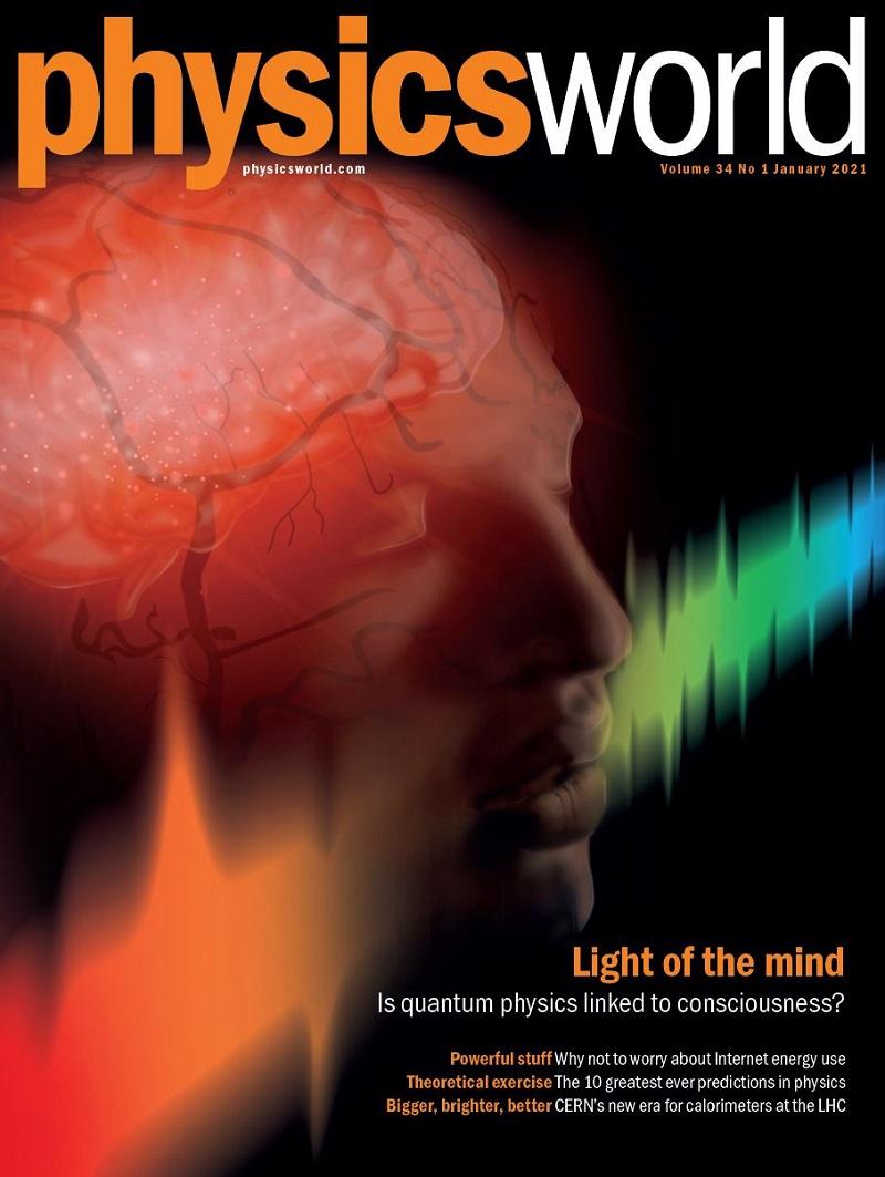 Physics World January 2021 cover